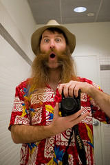 _DSC5892 (dogseat) Tags: selfportrait reflection me hat mouth beard bathroom mirror o moustache sp sideburns 365 chops hawaiianshirt mutton dogseat beardo project365 365days dundrearies 170365