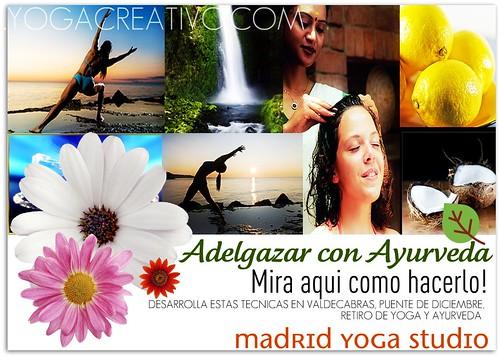 Ayurveda Adelgaza con Yoga Creativo