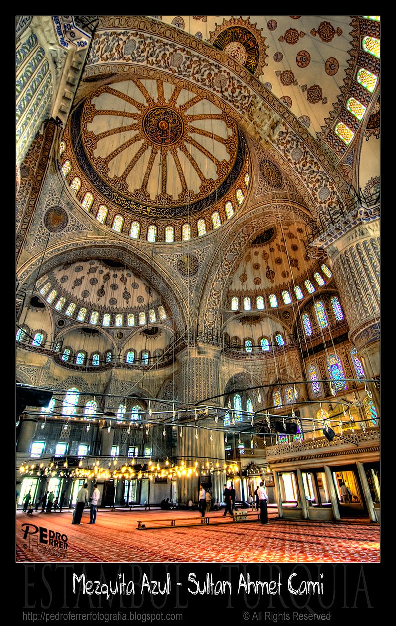 Mezquita azul - Cúpulas