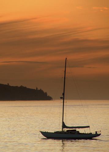 canada vancouver sailboat kitsilano kitsbeach