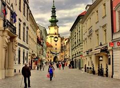 Il centro di Bratislava Slovakia Europe ( Jarmila ) Tags: tripleniceshot