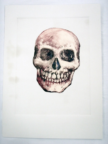 skull monotype