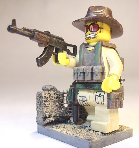 Custom minifig Sgt. Jack
