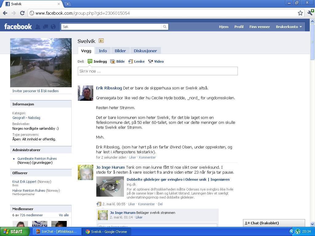 svelvik facebook