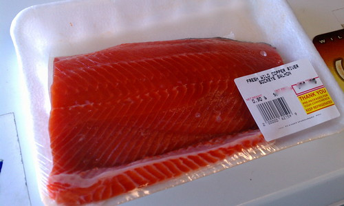 Fresh Salmon from Flying Fish Co.
