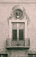 Casal Solleric (Jose Luis de la Fuente) Tags: españa white black blancoynegro blanco architecture blackwhite spain arquitectura negro mallorca palma balcon balcón majorca palmademallorca