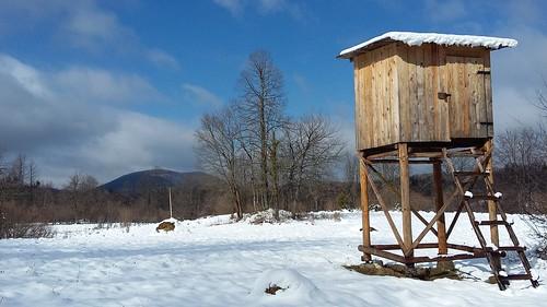 the hide in snow gornji sajn