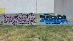 Reaes & Tera... (colourourcity) Tags: streetart streetartnow streetartaustralia graffiti melbourne burncity awesome colourourcity nofilters original tera teraone reaes gh 1201 1201crew ghcrew joiner burner