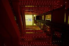 Kaufhaus in Leipzig (Undertable) Tags: licht leipzig treppe beleuchtung aufzug kaufhaus schacht treppenhaus aufgang undertable