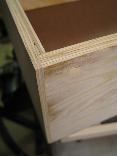 rabbet joint on drawer sides