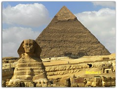 The Great Sphinx and King Khafra's Pyramid on the Giza Plateau!!  [A Prayer for Egypt: This Wonderful Civilization and Country will Survive Despite its ENEMIES!! One Day the Factions of this Old Country will Think of EGYPT FIRST!] (medhatiblu :-)) Tags: ancient egypt cairo egyptian temples giza 1000views greatsphinx mywinners platinumphoto 100commentgroup touraroundtheworld gizapyramidsplateau kafrapyramid medhathi artisticshoot mygearandmepremium mygearandmebronze mygearandmesilver mygearandmegold mygearandmeplatinum mygearandmediamond