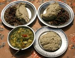 Nepal (nepalbaba) Tags: nepal trekking carne polenta verdure fagioli helambuvalley nepalbaba