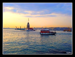 Istanbul - Kizkulesi (makkoc) Tags: turkey istanbul kiz kulesi otw topshots kartpostal mywinners panoramafotogrfico thebestofcengizsqueezeme2groups