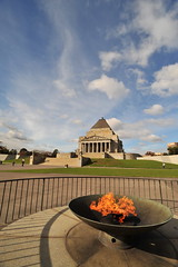 Melbourne 2009 - Shrine of Remembrance (3)