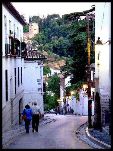 Postcards from Spain | The Streets and Alleys of Granada