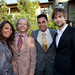 Producer of Milk Bruce Cohen and actor Chace Crawford with guests