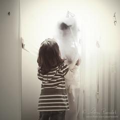the apparition () Tags: light white window andy children bambini andrea curtain ghost andrew finestra bianco radiator fantasma luce apparition tenda termosifone benedetti 35mmf18 apparizione nikond90