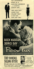 Pillow Talk (felixtcat) Tags: film movie advertising advertisement pillow 1959 dorisday tonyrandall moviead pillowtalk rockhudson thelmaritter