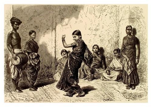 006-Muchachas indias-La India en palabras e imágenes 1880-1881- © Universitätsbibliothek Heidelberg