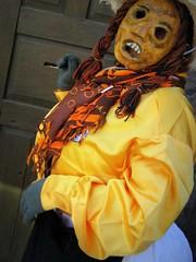 dia de los locos/ yellow blouse (msdonnalee) Tags: costumes festival mexico parade masks carnaval mexique mexiko mexicanfestival diadeloslocos dayofthecrazies photosfromsanmigueldeallende junefestivalsinmexico