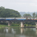 Train on the Bridge on the River Kwai thumbnail