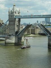 London Bridge Opens for Sailing Barge Will (zoejcraig) Tags: london thames towerbridge morelondon myoffice