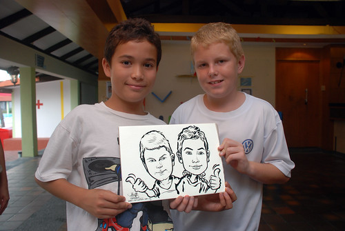 Caricature live sketching for Costa Sands Resort Day 4 - 4