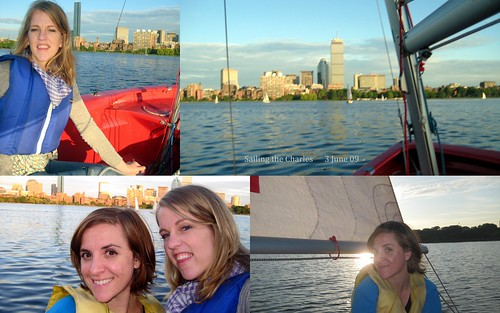 sailing the charles on a near windless day with replikate