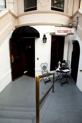 Entrance to Gus & Gabriel