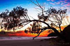 Arrawarra Headland (Michael Dawes) Tags: camera red seascape beach beauty by landscape geotagged seascapes country inspired australia clean your headland 61 newsouthwhales topshots arrawarra canon50d mytopshots inspiredbyyourbeauty canon24105mmf4ismusm geo:lat=30058397 geo:lon=153200586