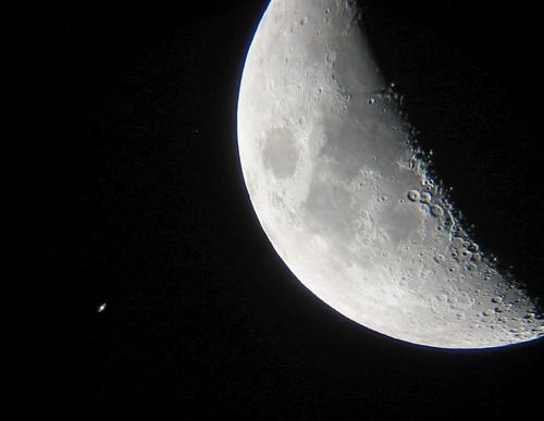 フリー画像| 自然風景| 月の風景| 宇宙/スペース| 土星/サターン|       フリー素材|