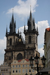 Church of our Lady before Tn, Prague (Rowan Castle) Tags: prague oldtownsquare churchofourladybeforetn mywinners img9320 coolestphotographers