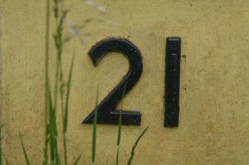 21 number numbers