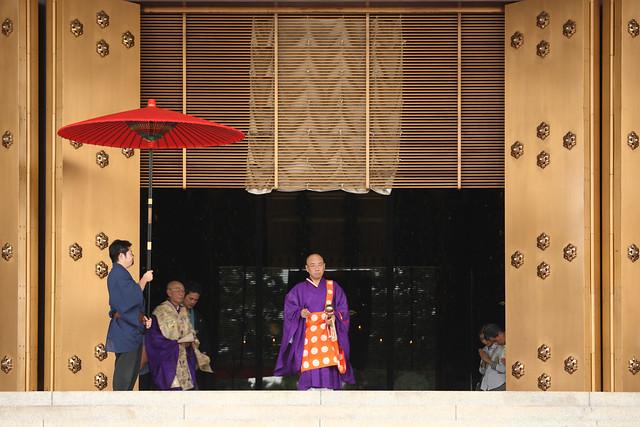 僧侶の行列