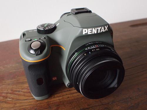 [開箱不評論]Pentax K-m橄欖綠