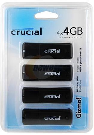 Win Crucial Gizmo! 16GB (4GB x 4) Flash Drive [Giveaway]