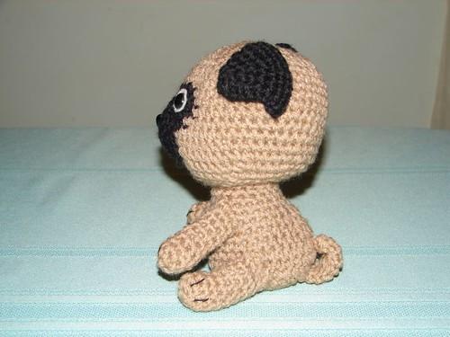 Baby Pug Dog amigurumi pattern - Amigurumi Today | 375x500