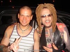 Toño Rosario y Residente Calle 13