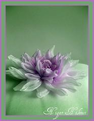 Ribbon Dahlia (nigarhikmet) Tags: dahlia flower purple handmade embroidery trkiye craft ribbon lint elii dahlias dalia yeil ribbonembroidery zijde kurdela sakarya carms ribbonwork ribbonflowers akyaz kurdele yldziei sulampita nigarhikmet bndchenstickerei kurdelenakisi kurdelanakisi lintborduren kurdelenak lintwerk broderieruban lintborduurwerk zijdelintborduren szalaghmzs   fitabordado bordadodecinta  sulamanpita   nastroricamo   ribbondalia kurdeleyldziei kurdeleii