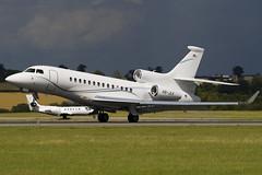 HB-JLK - Swiss Jet - Dassault Falcon 7X - Luton - 090730 - Steven Gray - IMG_8533