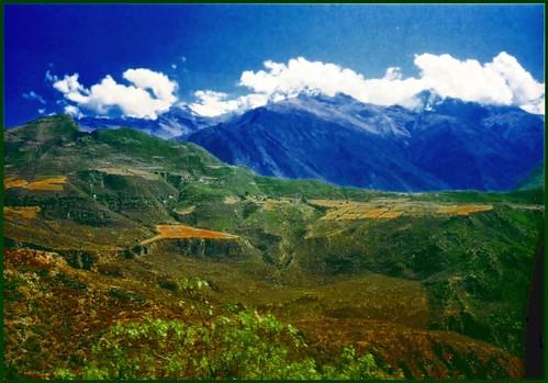 Paisaje andino.Perú