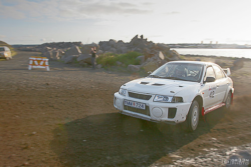 annual Icelandic International Rally and now called Mitsubishi Rally