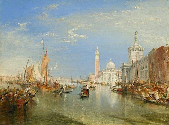 Turner, Venice: The Dogana and San Giorgio Maggiore
