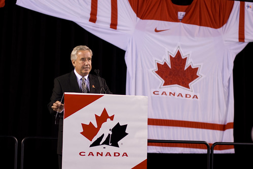 Canada Olympic hockey jersey unveiling
