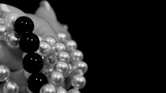 Day 934 - Black Pearl ... (lrayholly) Tags: blackandwhite bokeh song pearls blackpearl philspector 365days lrayholly 365more 365alumni irwinlevine toniwine