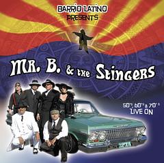 ミスターB & ザ・スティンガーズ『50's, 60's & 70's リヴ・オン』(BG-5073)