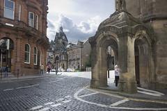 King Street, Stirling (Fergus McNeill) Tags: road street horizontal buildings landscape scotland town stirling cobbled cobbles kingstreet