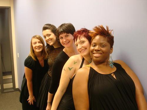Rebecca, Marla, Brandi, Me, Charneice