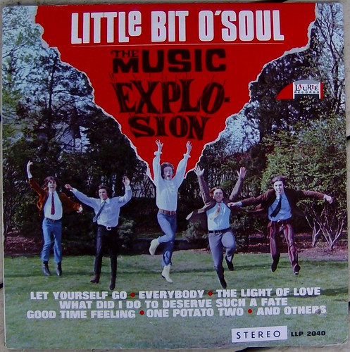 The Music Explosion / Little Bit O' Soul by bradleyloos.