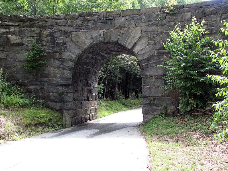 Stone tunnel